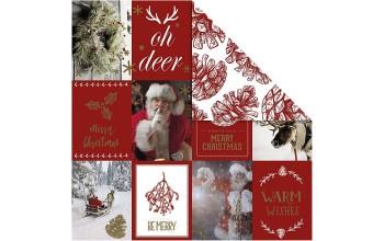 "Popierius ""Vivi Gade Design: Christmas motfs and cones"""