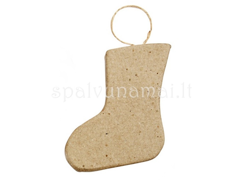 """Pakabinama dekoracija """"Christmas ornament 2"""" iš storo kartono"""