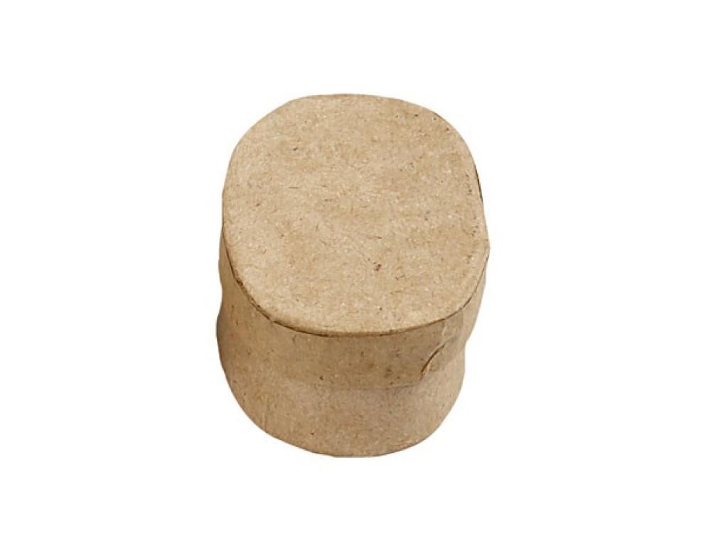 """Kartoninės dėžutės dekoravimui """"Oval"""", 1vnt."""