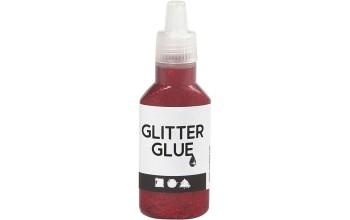 "Klijai su blizgučiais ""Glitter Glue Red"""