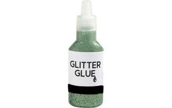 "Klijai su blizgučiais ""Glitter Glue Green"""