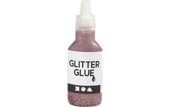 "Klijai su blizgučiais ""Glitter Glue Rose"""