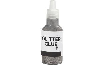 "Klijai su blizgučiais ""Glitter Glue Silver"""