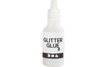 "Klijai su blizgučiais ""Glitter Glue Holografy white"""