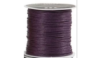Virvelė vaškuota medvilninė 1mm violetinė, 1m