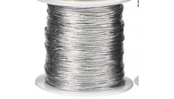 Virvelė medvilninė 1mm sidabrinė, 1m