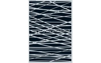 """Plastikinis trafaretas A5 """"Lines grid crosswise irregular"""""""