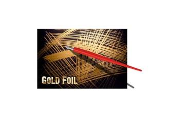 """Nubrėžimo poprierius """"Essdee Scraperboard gold"""" 10 lapų"""