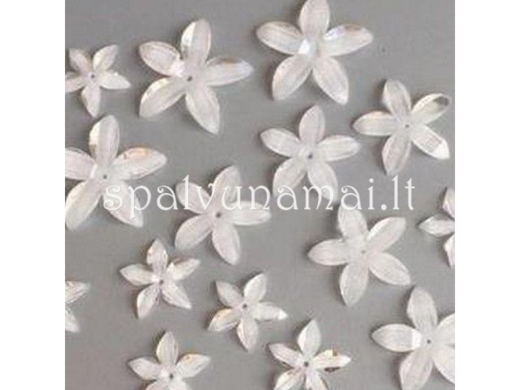 "Dekoracija ""Flowers Resin 3"", 16vnt."