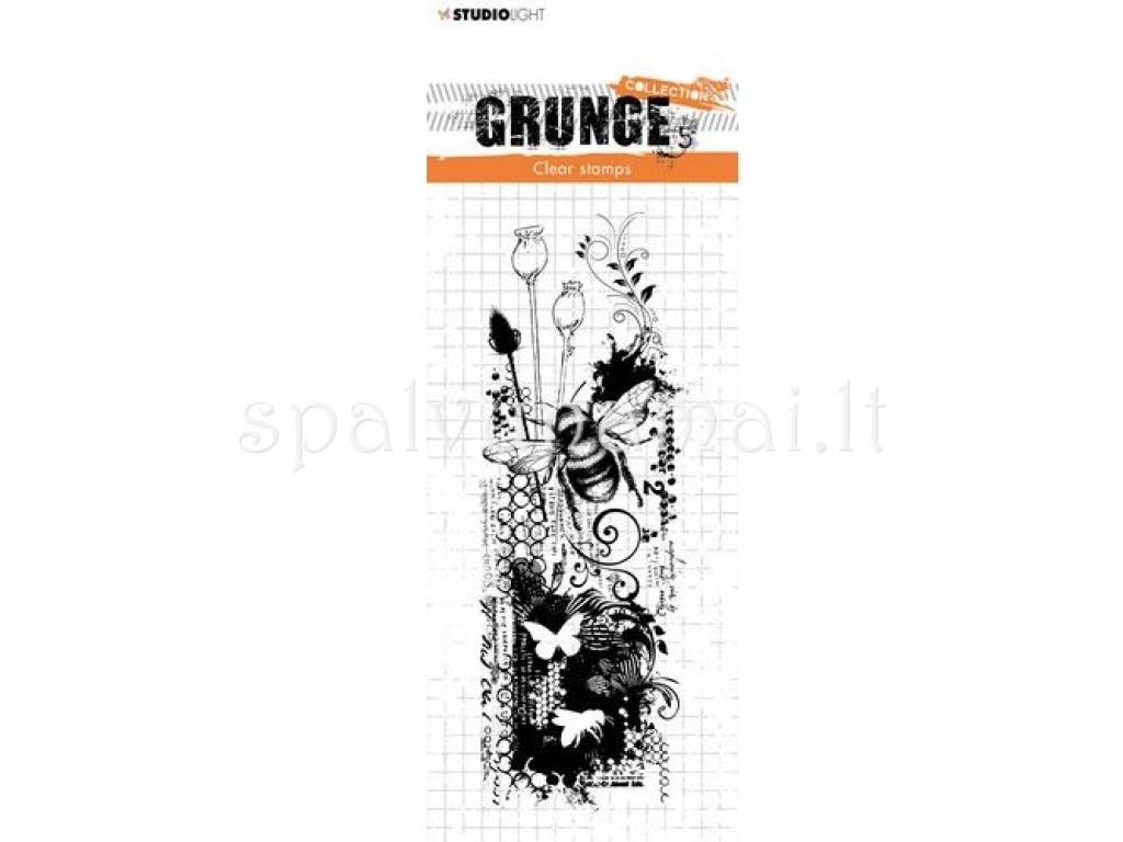 "Akriliniai antspaudukai ""Studio Light Stamp Grunge Collectin 453"""