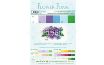 "EVA guma gėlėms ""Flower Foam: Blue Violet"", 6vnt."