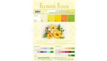 "EVA guma gėlėms ""Flower Foam: Yellow"", 6vnt."