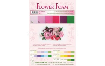 "EVA guma gėlėms ""Flower Foam: Red Pink"", 6vnt."
