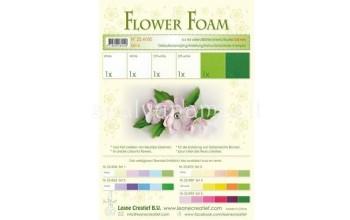 """EVA guma gėlėms """"Flower Foam: White Green"""", 6vnt."""