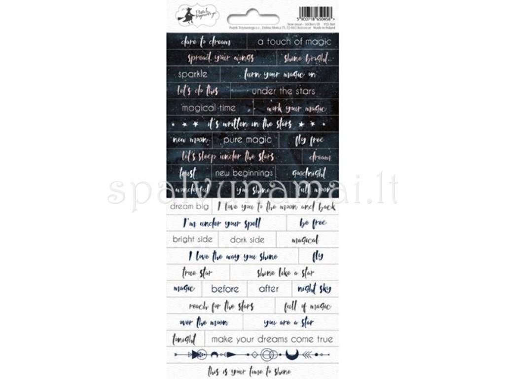 """Lipdukai """"Sticker Sheet New Moon 01"""""""