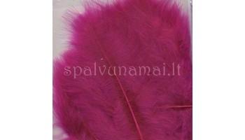 "Dažytos plunksnos ""Feathers Marabou fuchsia"", 15vnt."