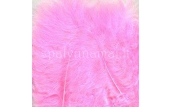 "Dažytos plunksnos ""Feathers Marabou pink"", 15vnt."