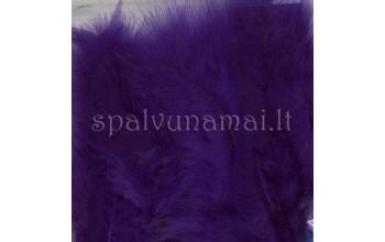 "Dažytos plunksnos ""Feathers Marabou purple"", 15vnt."