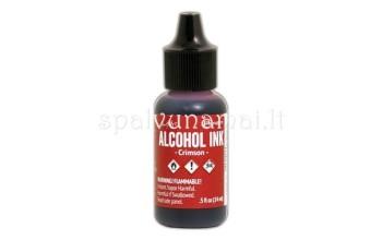 "Alkoholinis rašalas ""Ranger Alcohol Ink Crimson"""