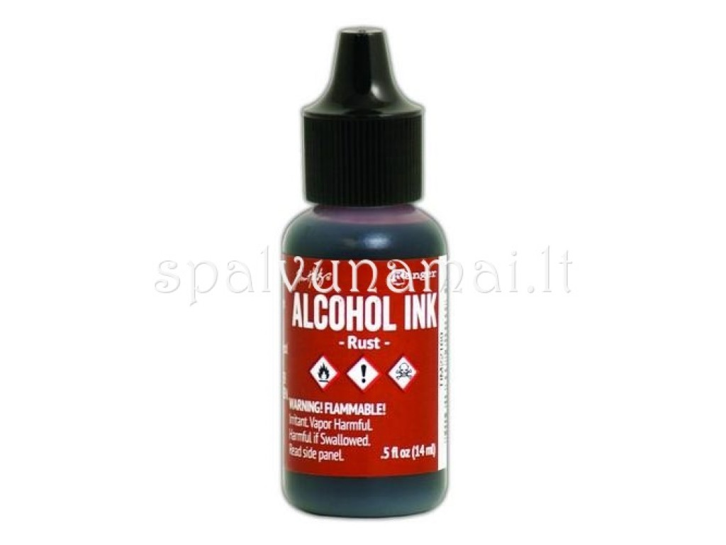 "Alkoholinis rašalas ""Ranger Alcohol Ink Rust"""
