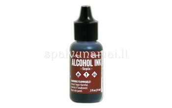 "Alkoholinis rašalas ""Ranger Alcohol Ink Sepia"""