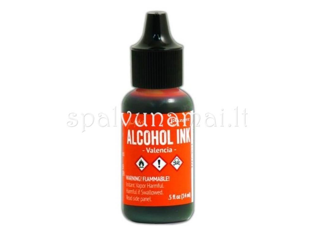"Alkoholinis rašalas ""Ranger Alcohol Ink Valencia"""