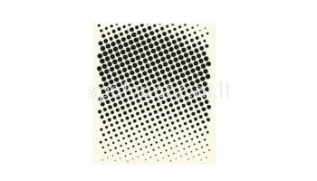 "Plastikinis trafaretas ""Faded Dots"""