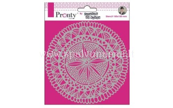 "Plastikinis trafaretas ""Pronty Mask Mandala Circle Tribal"""