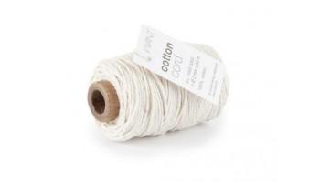 """Medvilninė virvelė """"Cotton fine creme/ivory"""", 50m"""