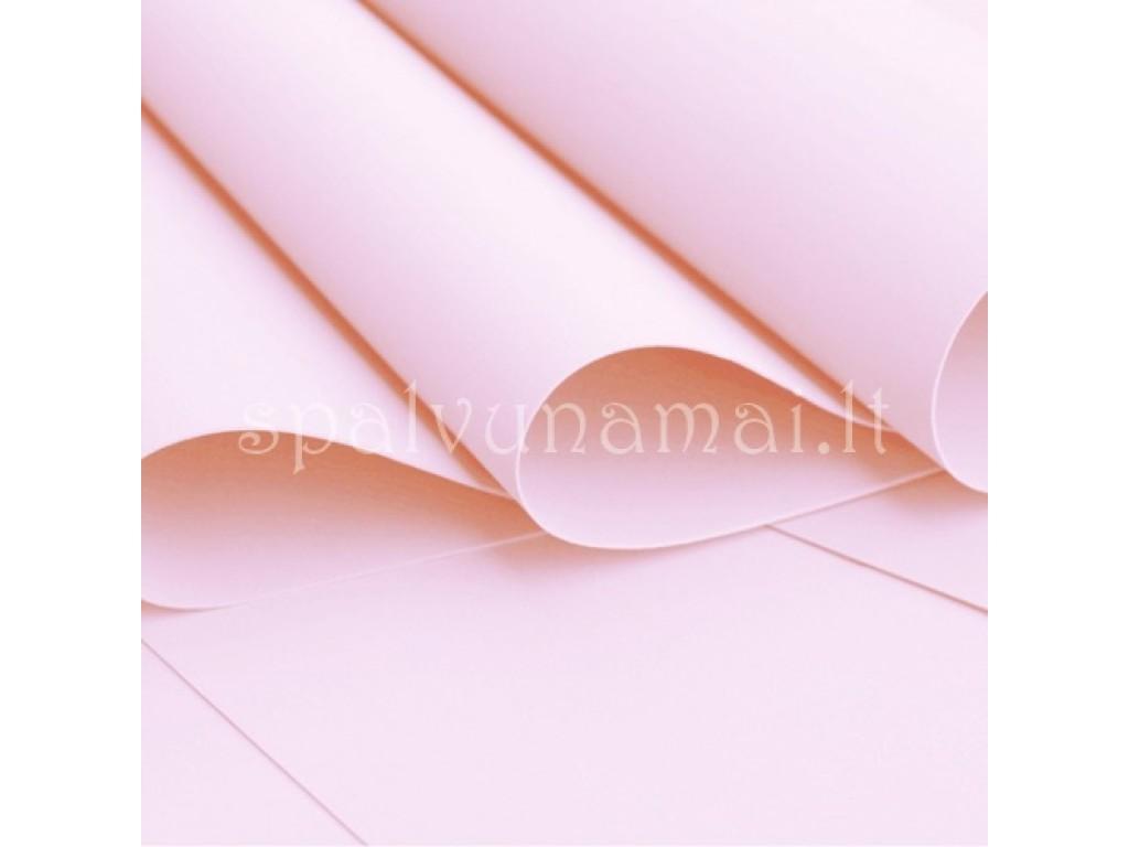 "EVA guma gėlėms ""Foamiran  Light Pink 0,5mm"", 30x35cm"