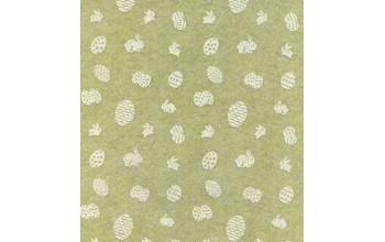 """Dirbtinis veltinis (filcas) """"Easter"""" Sage Green/White, 30x40 cm"""