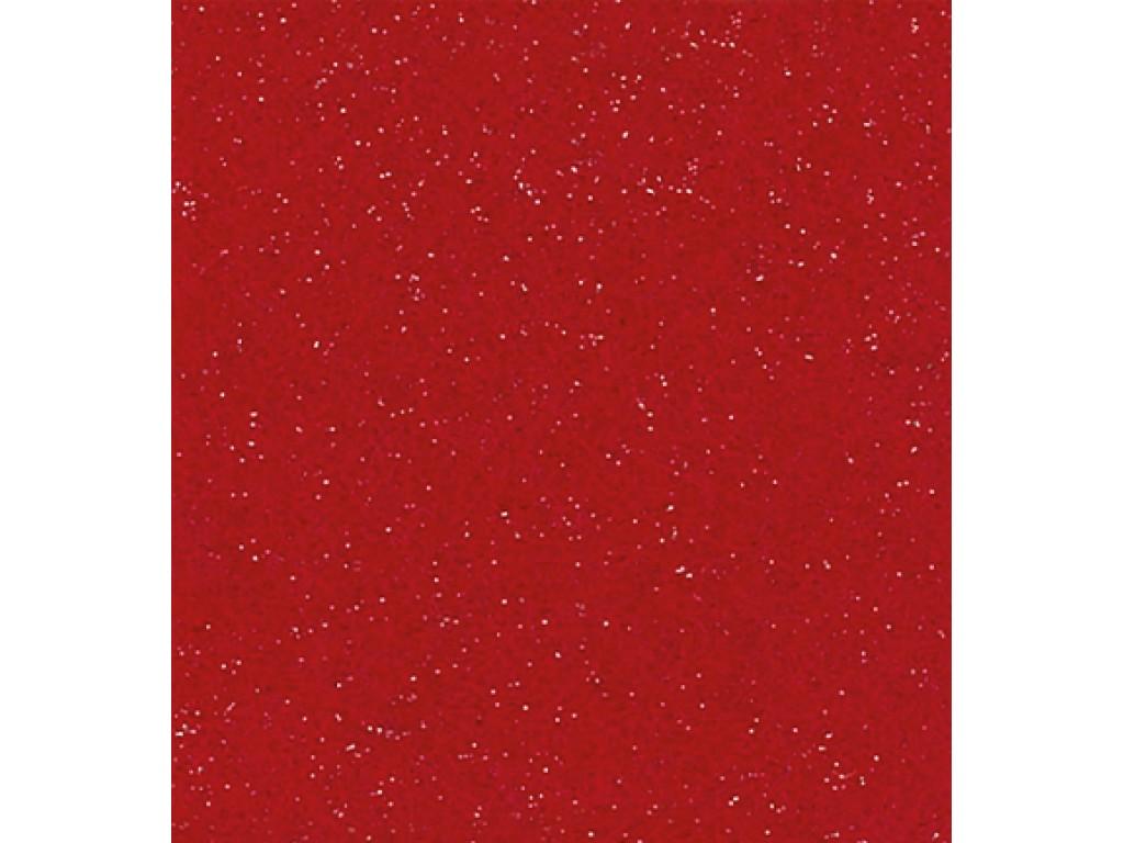 """Dirbtinis veltinis (filcas) """"Fine glitter"""" Red, 30x40 cm"""