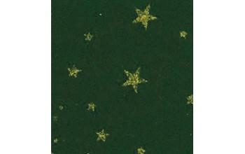 """Dirbtinis veltinis (filcas) """"Glitter Stars"""" Dark Green, 30x40 cm"""