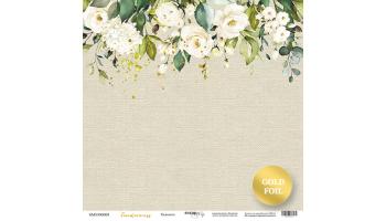 """Popierius vienpusis """"Tenderness: tenderness"""" 30,5x30,5 cm"""