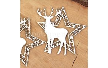 """Kartoninė formelė """"Cherish Christmas: žvaigždės"""", 2vnt."""