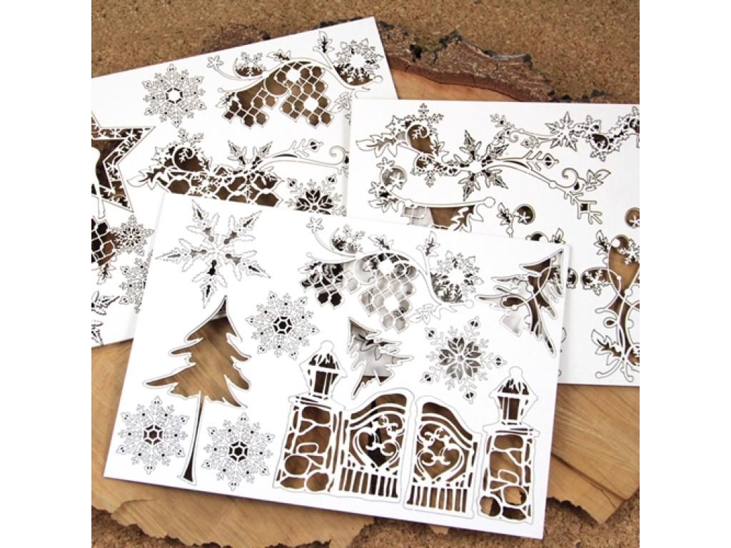 """Kartoninių formelių rinkinys """"Christmas album"""""""