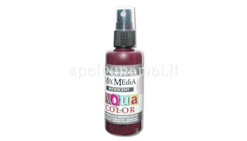 "Purškiami dažai ""Aquacolor Spray Iridescent Burgundy"", 60ml"