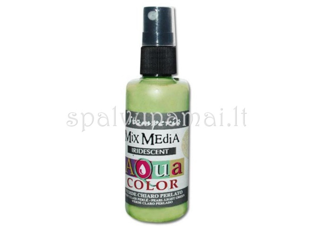 "Purškiami dažai ""Aquacolor Spray Iridescent Light Green"", 60ml"