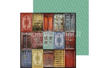 """Popierius """"Grand Bazaar: Doorway"""""""