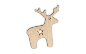 "Medinė formelė ""Reindeer"""