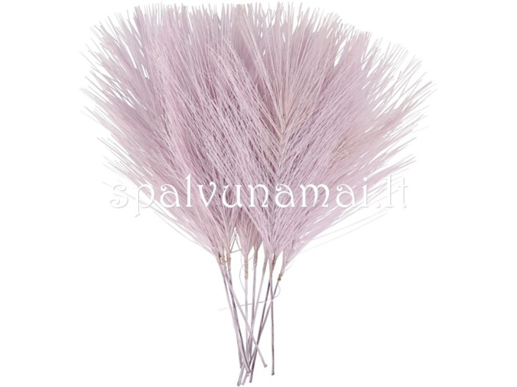 "Dirbtinės plunksnos ""Artificial Feathers Violet"", 1vnt."