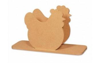 """MDF servetėlių laikiklis """"Chicken"""""""