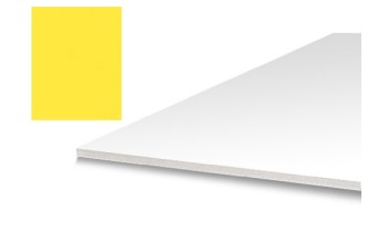 "Minkštas crepla popierius ""Foam Rubber Yellow 2mm"", A3 formatas"