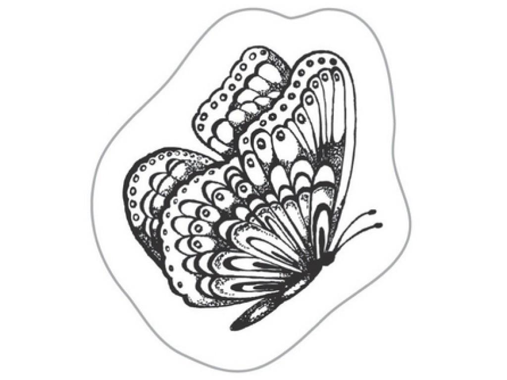 "Akriliniai antspaudukai ""Flying Butterfly"""