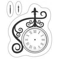 """Akriliniai antspaudukai """"Clock With Hands"""""""