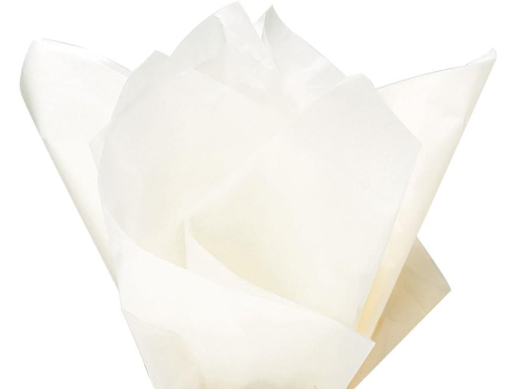 """Tissue šilko popierius """"Baltas / White"""", 25vnt."""