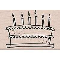 """Guminis antspaudukas """"Birthday cake"""""""