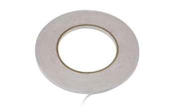 Dvipusė skaidri lipni juostelė, 6mm