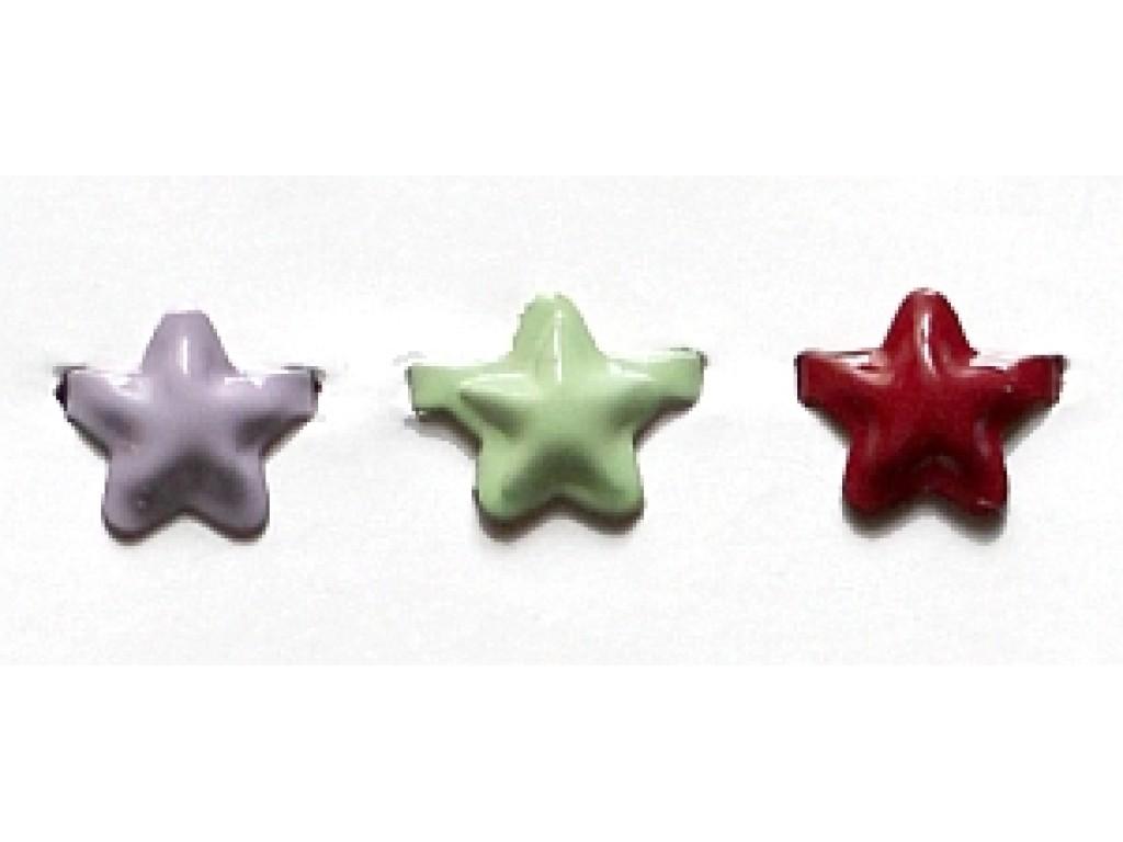 "Dek.vinukai ""Violet Mint Red Stars"", 15vnt."