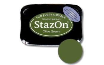 "Rašalas ""StazOn Olive Green"""